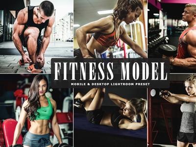 Free Fitness Model Mobile & Desktop Lightroom Preset