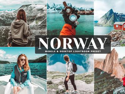 Free Norway Mobile & Desktop Lightroom Preset