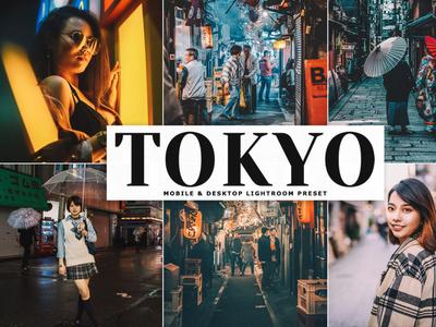 Free Tokyo Mobile & Desktop Lightroom Preset