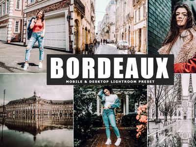 Free Bordeaux Mobile & Desktop Lightroom Preset