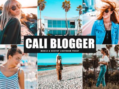 Free Cali Blogger Mobile & Desktop Lightroom Preset