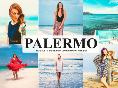 Free Palermo Mobile & Desktop Lightroom Preset