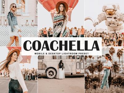 Free Coachella Mobile & Desktop Lightroom Preset