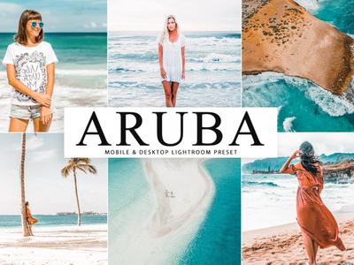 Free Aruba Mobile & Desktop Lightroom Preset