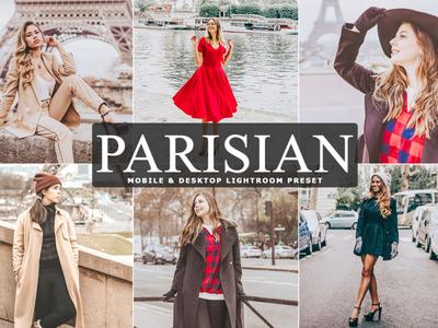Free Parisian Mobile & Desktop Lightroom Preset