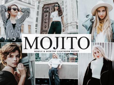 Free Mojito Mobile & Desktop Lightroom Preset