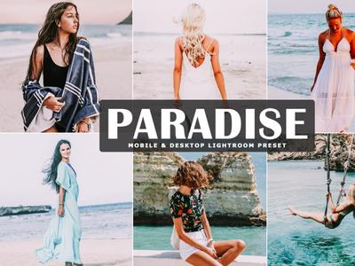 Free Paradise Mobile & Desktop Lightroom Preset