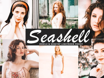 Free Seashell Mobile & Desktop Lightroom Preset