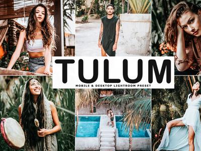 Free Tulum Mobile & Desktop Lightroom Preset