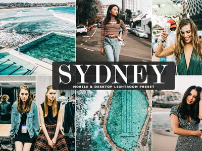 Free Sydney Mobile & Desktop Lightroom Preset