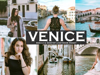 Free Venice Mobile & Desktop Lightroom Preset