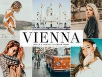 Free Vienna Mobile & Desktop Lightroom Preset