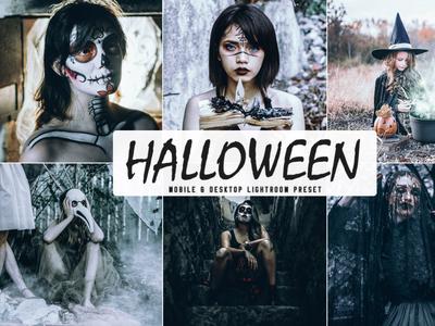 Free Halloween 2019 Mobile & Desktop Lightroom Preset