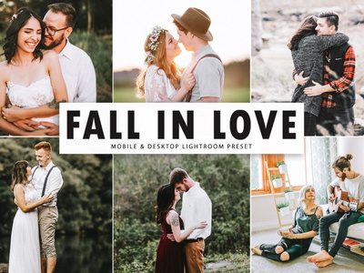 Free Fall In Love Mobile & Desktop Lightroom Preset