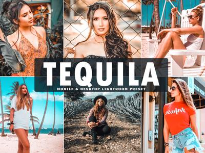 Free Tequila Mobile & Desktop Lightroom Preset