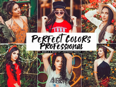 Free Perfect Colors Pro Mobile & Desktop Lightroom Presets