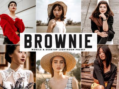 Free Brownie Mobile & Desktop Lightroom Preset