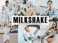 Free Milkshake Mobile & Desktop Lightroom Preset