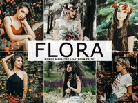 Free Flora Mobile & Desktop Lightroom Preset