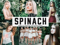 Free Spinach Mobile & Desktop Lightroom Preset