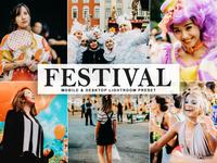 Free Festival Mobile & Desktop Lightroom Preset
