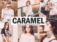 Free Caramel Mobile & Desktop Lightroom Preset