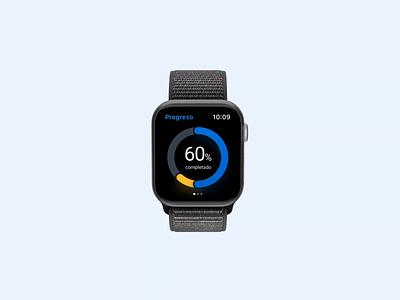 Savings on your wrist motion app widget savings app savings animation after effects bank ui ux banking finance