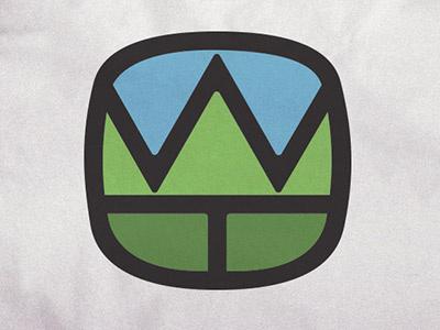Trees tree logo mark sky wire  twine w t wire and twine