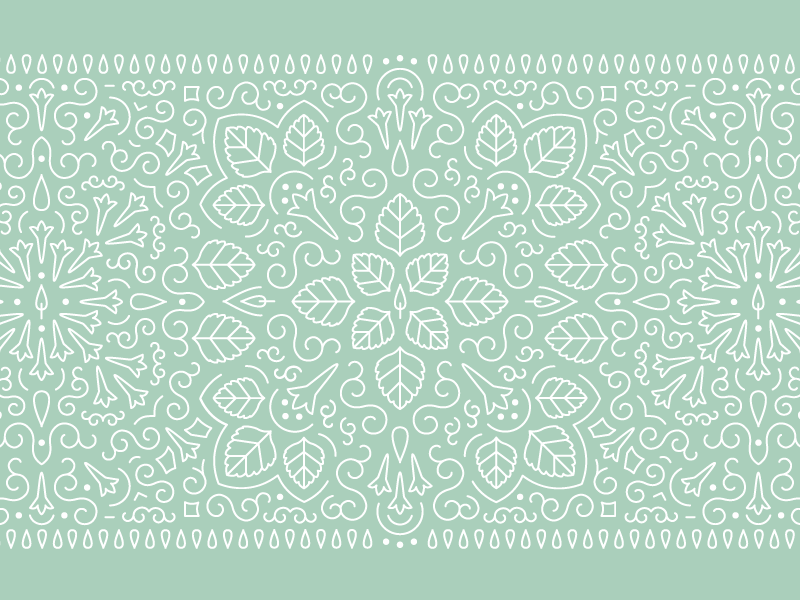 Patchouli Pattern line pattern line art pattern