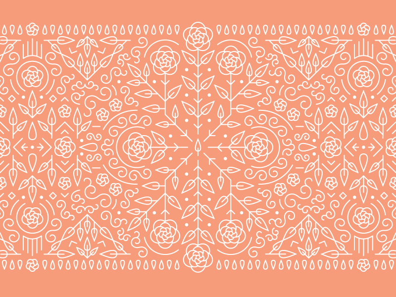 Rose Pattern line pattern line art pattern