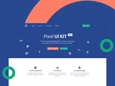 Pixel Pro Bootstrap UI Kit