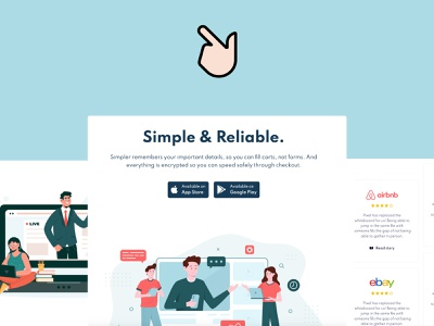 Swipe - Free One Page Bootstrap 5 template clean creative themesberg colorful playful swipe play store app store illustration one page site one page template one page bootstrap 5 bootstrap