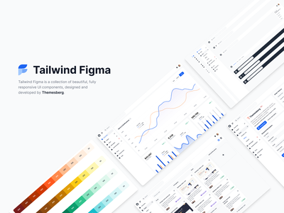 Figma design kit built for Tailwind CSS tailwindcss tailwindui tailwind figma ui kit figma design kit figma ui figma design figmadesign figma