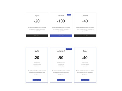 Bootstrap 4 UI Kit template