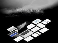 Picseel-Bootstrap 4 UI Kit
