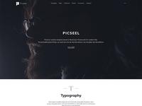 Picseel-Bootstrap 4 UI-KIT