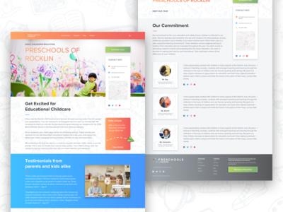 Preschool Home Page - Website