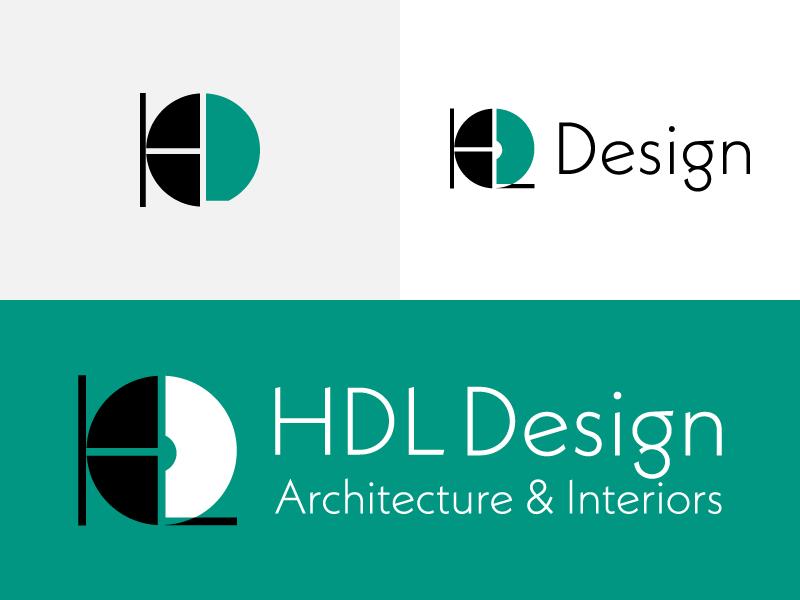 HDL Design illustrator business logo branding