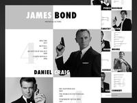 James Bond - Movies & Actors