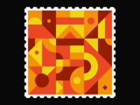 Geometric Stamp II