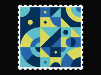 Geometric Stamp IV