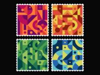 Geometric Stamps