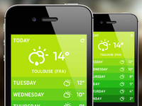 Weather App Design (Spring/Fall Edition)
