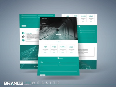 Website brands line company