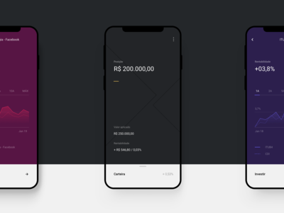 XP Investments mobile app ios ui  ux design app