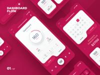 MAD - App Dashboard flow campaign schedule app calendar interface mobile apps car advertisement design taxi app mobile app ai ux ui data interaction dashboard event application design app dtail studio
