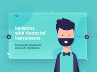 Investors large