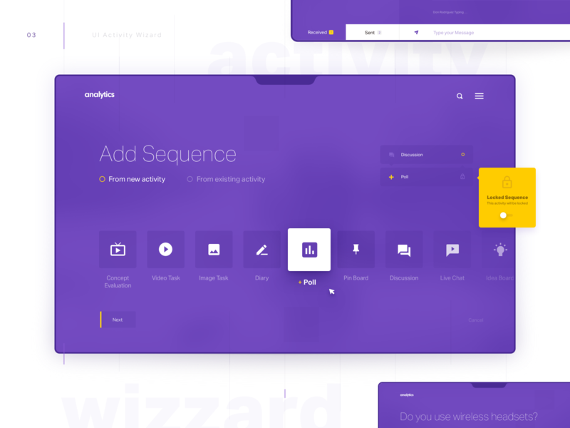 Activity Wizard - Freebie by Stan for Dtail Studio on Dribbble