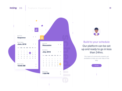 Feature illustration icon illustration dtail freebie clean ux designconcept product ux ui web design responsive ux data analytics website minimal dashboard interface event layout landing page