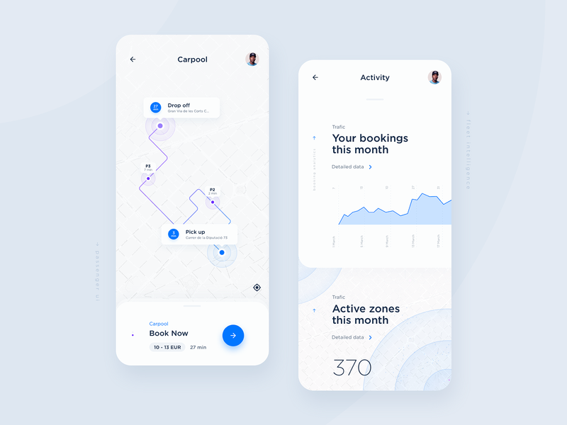 Fleet Passenger & Driver UI mobility rounded statistics schedule booking data map ui location dashboard ui ux design interaction interface driver taxi app taxi analytics tracking ui  ux ui app